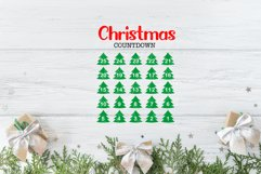 20 Christmas Countdown, Advent Calendar SVGs, Xmas countdown Product Image 5