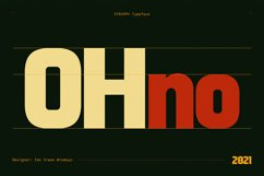 Strippy - Bold Futuristic Fonts Product Image 2