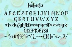 Nobula || handwriting font Product Image 2