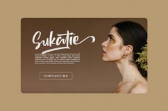 Sutten Batavia - Brush Font Product Image 2