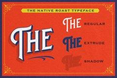 Native Roast - Layered Display Font Product Image 5
