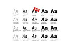 Mudhead Family | Sports Display Font Product Image 3