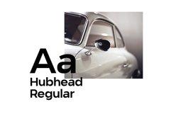Hubhead Ggeometric Sans-Serif Font Product Image 2