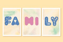 Tropical Love - Lovely Decorative Font for Crafting Product Image 2