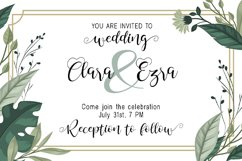 Summer Wedding | Duo Font Product Image 2