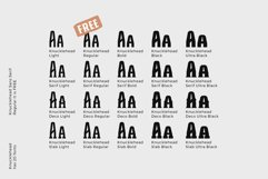 Knucklehead Font Family Product Image 4