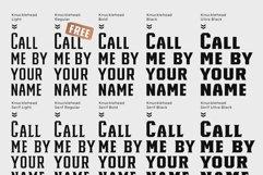 Knucklehead Serif | Vintage Font Product Image 3