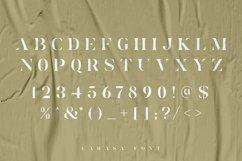 Larasa - Modern Luxury Serif Font Product Image 2
