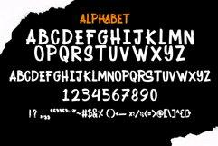 RAIZOR brush font Product Image 2