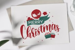 Sweet Christmas - A lovely Script Font with swash Product Image 2