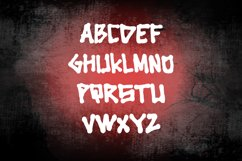 Cingire - bold and scary font Product Image 5