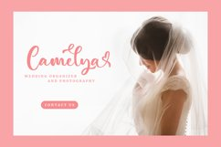 Candina - Lovely Script Font Product Image 4