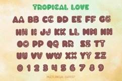 Tropical Love - Lovely Decorative Font for Crafting Product Image 4