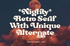 Nighty - Vintage Serif Typeface Product Image 4