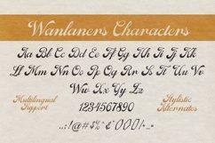 Wanlaners - Vintage Script Product Image 2