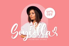 Candina - Lovely Script Font Product Image 5