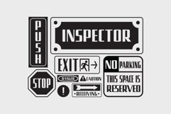 Uphead | Industrial Font Product Image 3