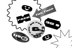 Fathead Display Font Product Image 5
