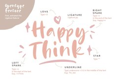 Happy Pink - Handwritten Font Product Image 2