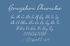 Graystera - Script Font Product Image 3