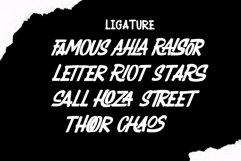 RAIZOR brush font Product Image 3