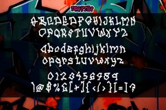 DRAFTIES - Graffiti Display Font Product Image 5