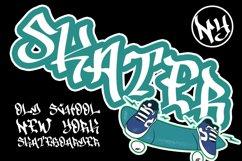 Drone Spray Graffiti Font Product Image 5