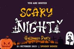 Halloween Sale Font Bundle Product Image 3