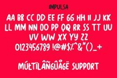 Impulsa - Handwritten Bold Fonts Product Image 2