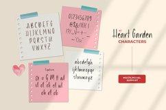 Heart Garden - A Handwritten Font Product Image 2