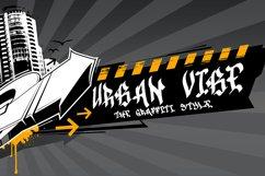 Drone Spray Graffiti Font Product Image 6