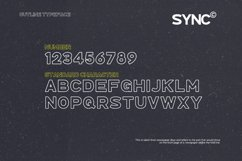 SYNC - Modern Sans Serif Font Product Image 4