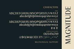 Magnitude - Stylish Sans Serif Product Image 3