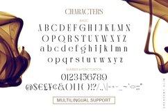 Crescent Slim - Stylish Serif Font Product Image 3