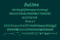Semongko - a cute display font Product Image 4