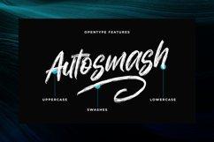 Autosmash - Brush Font Product Image 2