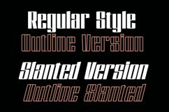 Dankfield - Modern Condensed Font Product Image 2