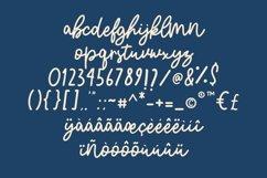 Blue Cirrus Script Product Image 6