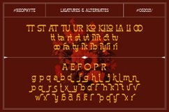 Neophyte Typeface Product Image 4