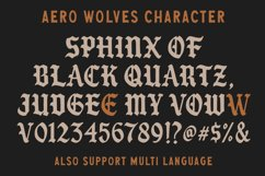 Aero Wolves and Extras Product Image 3