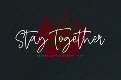 Stay Together - A Stylish Script Font Product Image 1