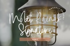 Molet Raenak Signature Font Product Image 1