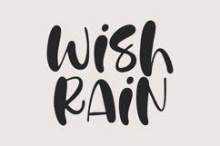 Wish Rain - A Fun Handwritten Font Product Image 1