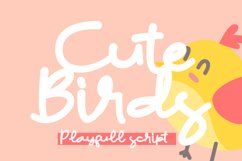 Cute Birds Product Image 1
