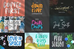 Epiclinez Crafty Crafter Bundle   27 Fonts Collection. Product Image 4