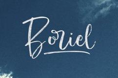 Boriel   Brush Script Product Image 1