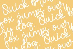 Chewy Pudding Fun Handwritten Font Script Product Image 5