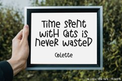 So Little Time - A Cute Display Font Product Image 5