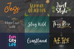 Epiclinez Crafty Crafter Bundle   27 Fonts Collection. Product Image 2