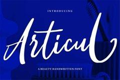 Web Font Articul - A Beauty Handwritten Font Product Image 1